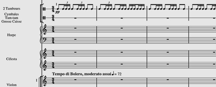 Maurice Ravel, Bolero (PB 5299), Breitkopf Urtext hrsg. von Jean-François Monnard