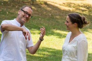 Christian Rudolf Riedel und Daniela Wolff