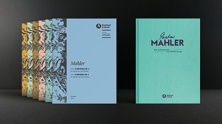 Gustav Mahler, Symphonie Nr. 4, Breitkopf & Härtel