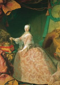 Maria Theresia of Austria at the Age of 35